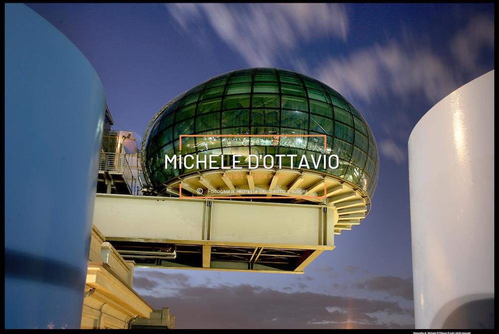 Torino architettura ..Lingotto Bolla architetto Renzo Piano