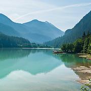 Diablo Lake, Ross Lake National Recreation Area, Washington, USA.
