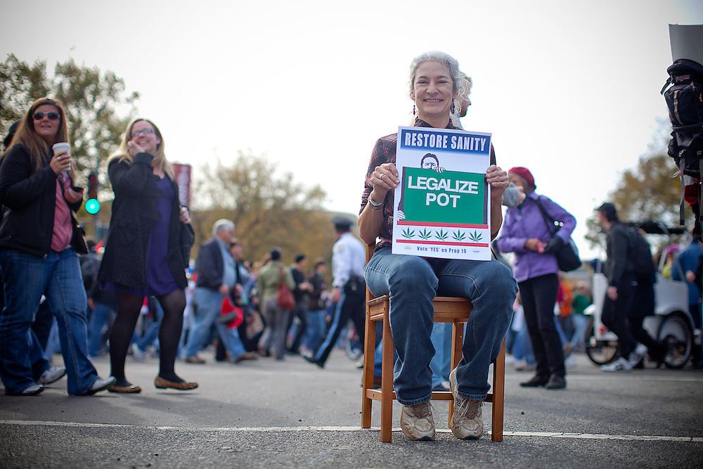 Washington, Oct. 30, 2010 - Rally to Restore Sanity and/or Fear -Bee Meldahl, Little Rock, Arkansas