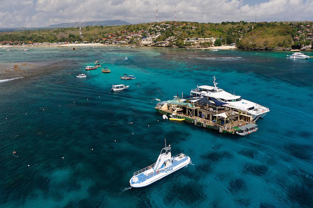 Promotional images for Bali Hai Cruises, Bali, Indonesia.