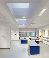 natural light in hospital ward