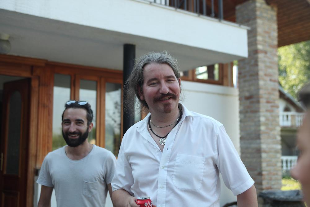 Liberland Settlement Association boss Niklas Nikolajsen at the LSA house