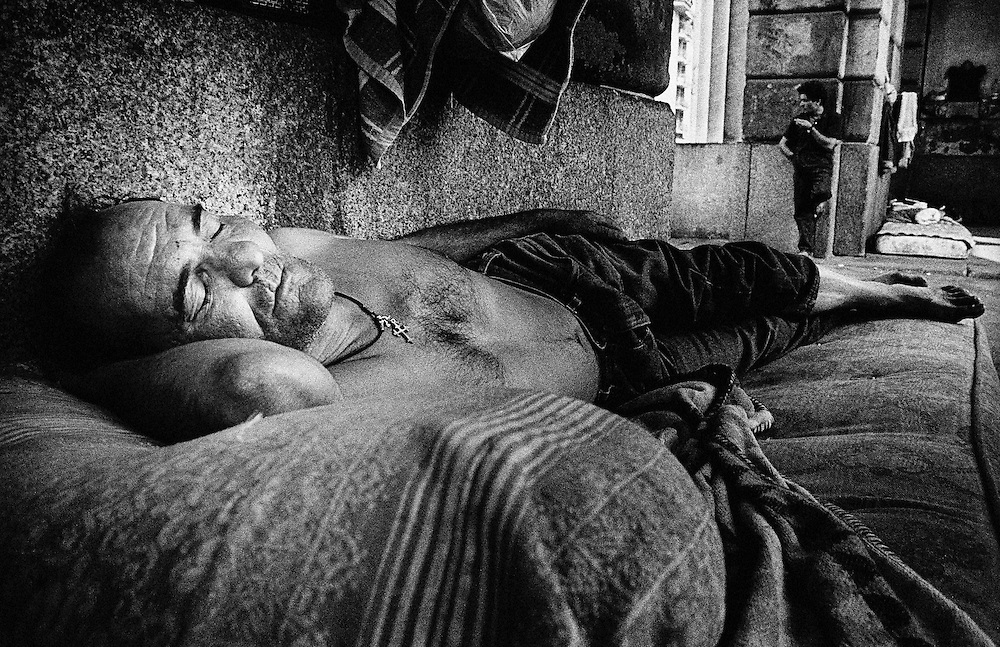 Homeless, Europe, Italy,Lombardy,Milano