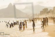 Rio de Janeiro, Ipanema Beach, Posto 8, Brazil