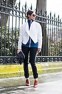 White Sculpted Jacket, Outside Dries van Noten FW2016