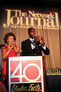 Stacy J. and Randal D. Pickett at The Network Journal 40 under Forty 2008 Achievement Awards held at the Crowne Plaza Hotel on June 12, 2008