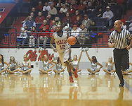 "Ole Miss guard Chris Warren (12) at the C.M. ""Tad"" Smith Coliseum in Oxford, Miss. on Saturday, December 18, 2010. Ole Miss won 71-50 and Warren scored 22 points."
