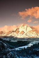 Grand Teton National Park, Teton Range, Snake River, Wyoming