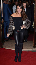 Lizzie Cundy attends Memphis Press Night at The Shaftesbury Theatre, Shaftesbury Avenue, London on Thursday 23rd October 2014