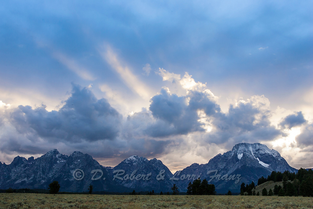 Grand Teton National Park at sunset
