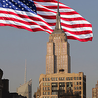American Flag, New York, New York, USA