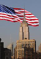 American Flag, New York, New York, USA