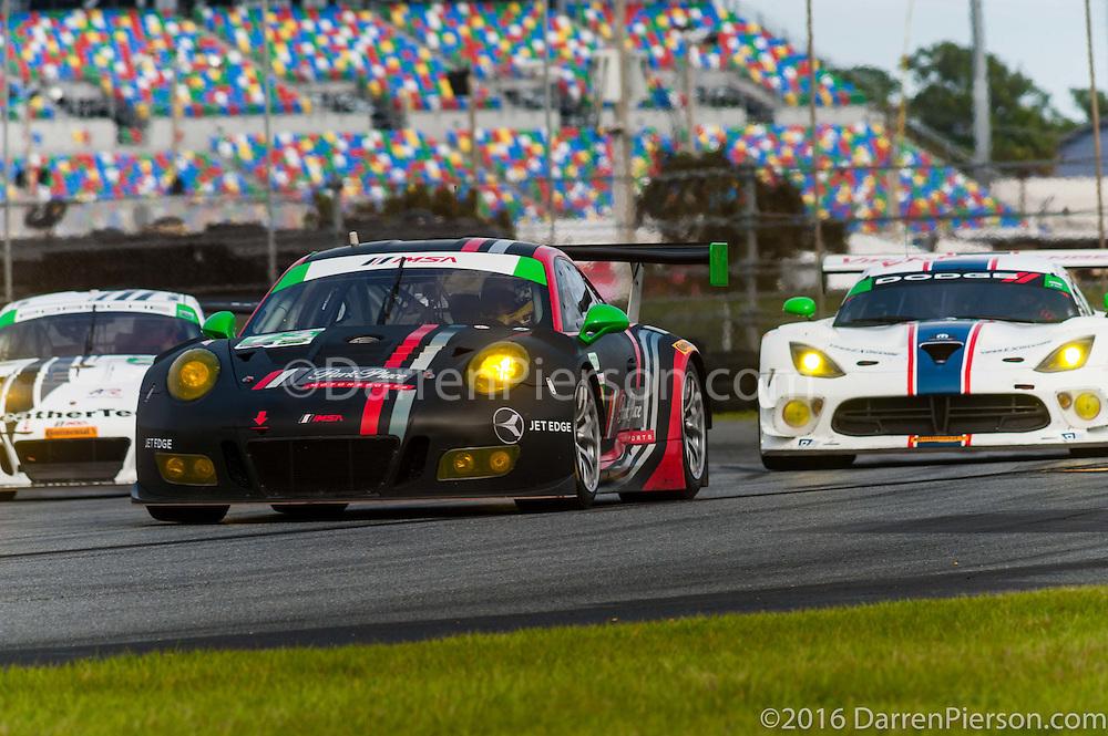 #73 Park Place Motorsports Porsche GT3 R: Patrick Lindsey, Matthew McMurry, Jörg Bergmeister