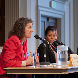Candidates for 2012 Portland City Council participate in a Forum on Housing hosted by Oregon Opportunity Network, moderated by Kerry Tymchuk at the First Unitarian Church on 1-23-2012.
