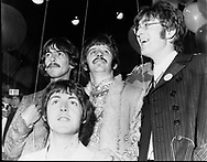 Beatles 1967 All You Need Is Love TV Show from Abbey Road June 1967..© Chris Walter..