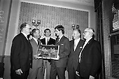 1966 - Castrol (Ireland) Ltd. presentation of Castrol Trophy to Home Farm at the Central Hotel