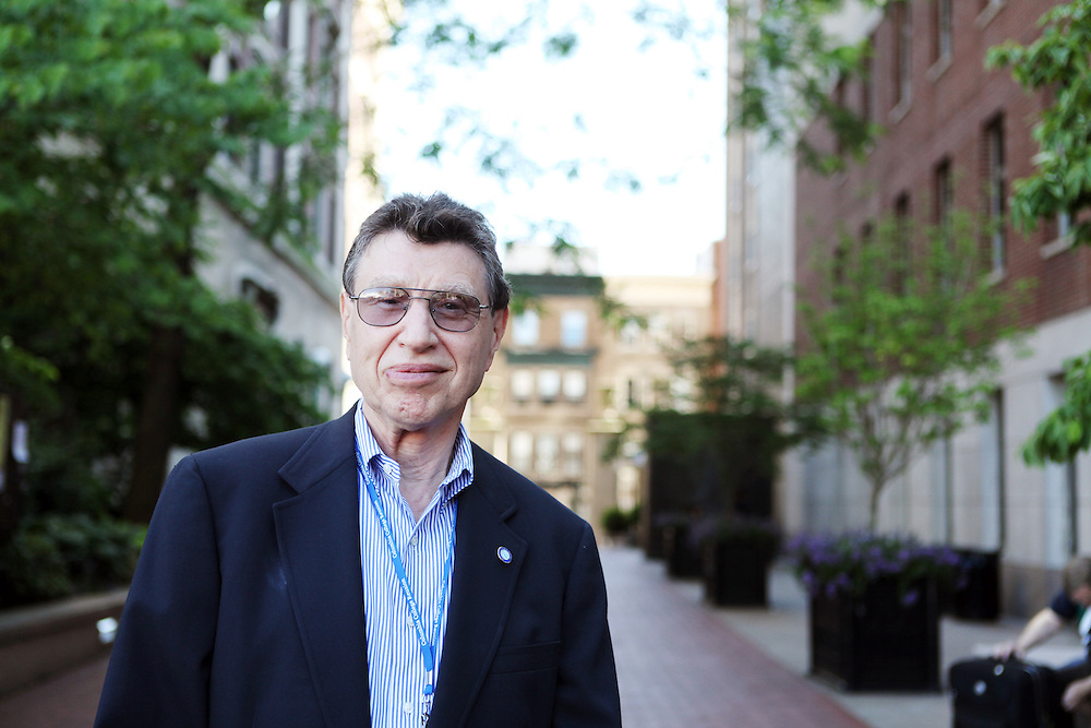 """Morris Dickstein '61.Son: Jeremy Dickstein '88..""""Study languages. Read all you can. Open up to the world."""""""