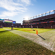 General view of Sports Authority Field at Mile High during the NFL regular season game against the Oakland Raiders and the Denver Broncos on Sunday, Dec. 13, 2015 in Denver. The Raiders won, 15-12. (Ric Tapia via AP)