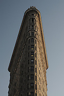 THE FLATIRON BUILDING, New York City, New York, designed by.Daniel H. Burnham & Co. in 1902