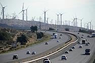 Wind Turbine Farm in California