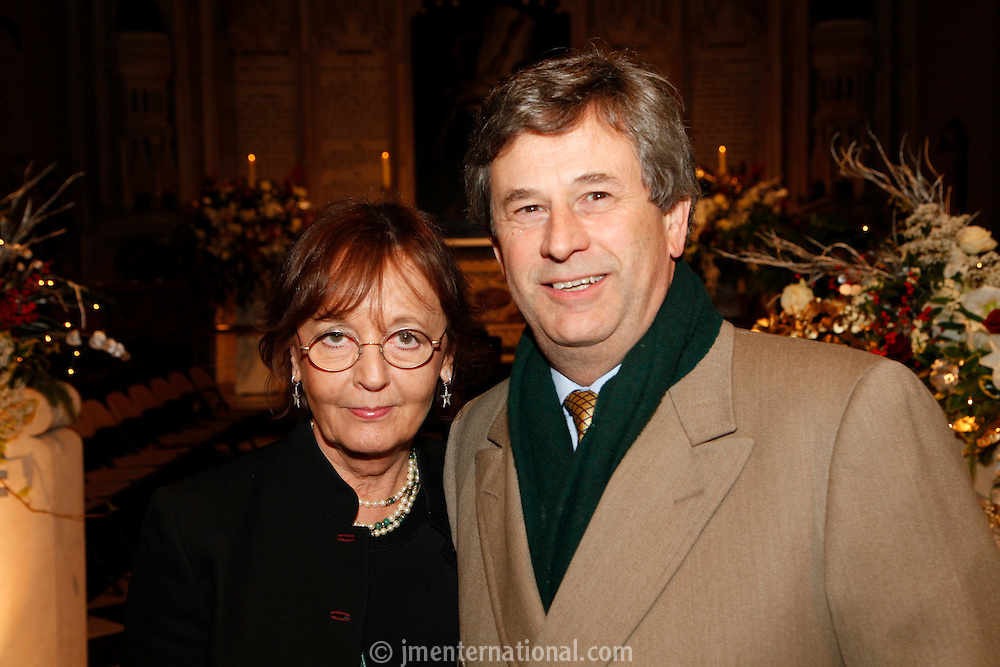 Andrew Wilkinson and Audrey Hoare, Nordoff Robbins Carol Service  2011 sponsored by Coutts. London..Wednesday, 14. Dec 2011