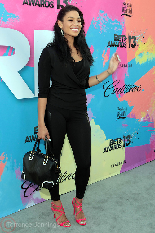 """Los Angeles, CA-June 29: Recording Artist Jordin Sparks attends the Seventh Annual """" Pre """" Dinner celebrating BET Awards hosted by BET Network/CEO Debra L. Lee held at Miulk Studios on June 29, 2013 in Los Angeles, CA. © Terrence Jennings"""