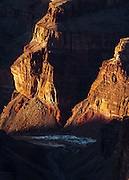 Hance Rapids on the Colorado River in Grand Canyon National Park.