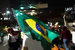 Manifestacao popular na cidade de Sao Paulo contra o aumento da tarifa dos transportes publicos // Riot at Sao Paulo against the prices to the public transporte, Sao Paulo, Brazil 2013.
