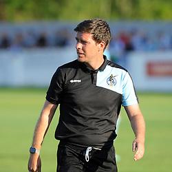 Bristol Rovers manager, Darrel Clarke - Photo mandatory by-line: Neil Brookman/JMP - Mobile: 07966 386802 - 15/07/2015 - SPORT - Football - Bristol - Cossham Stadium - Pre-Season Friendly