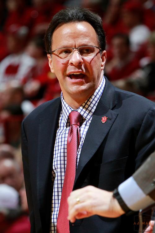 Indiana head coach Tom Crean as Eastern Washington played Indiana in an NCAA college basketball game in Bloomington, Ind., Monday, Nov. 24, 2014. (AJ Mast)