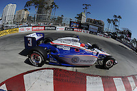 Helio Castroneves, Toyota Grand Prix of Long Beach, Streets of Long Beach, Long Beach, CA USA 4/17/2011