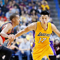10-22 TRAIL BLAZERS AT LAKERS