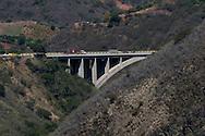 View of the venezuelan bridge called viaduct #3. This bridge is one of the routes to the country's main airport in Venezuela. Feb 27 2008. (ivan gonzalez).