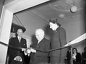 1955 - 13/01 Sean T O'Ceallaigh opens Central Remedial Clinic