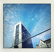 Apple Store 5th Avenue. From the series Fake Polaroids. ...photo © Stefan Falke....