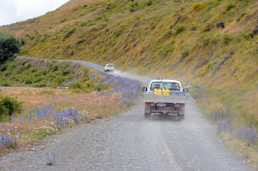 Awatere Gorge Road, Molesworth Station, Marlborough, New Zealand, Wednesday. January 21, 2015. Credit:SNPA / Ross Setford