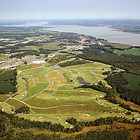 Golf Course aerial photograph