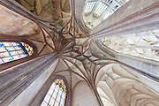 Interior of St Barbara Cathedral, Kutna Hora, Czech Republic