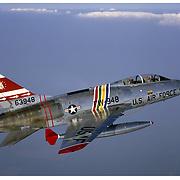 F-100F Super Sabre, air-to-air