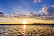 Sunset Hudson River, Irvington, NY