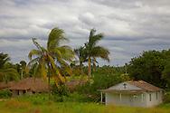 A small church near Macurije,  Pinar del Rio, Cuba.