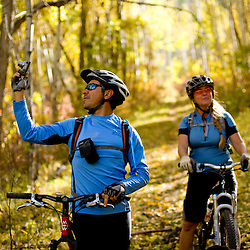 Fall Mountain Biking in the Zuni Mountains at the Twin Springs area..