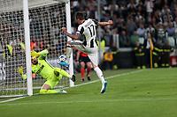 can - 09.05.2017 - Torino - Champions League Semifinale  -  Juventus-Monaco nella  foto: Mario Mandzukic segna il gol dell' 1 a  0