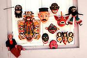 SRI LANKA, CRAFTS Ceremonial Dance Masks made in  Ambalangoda