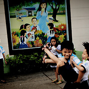 Ho chi Minh, (Saigon). Children normally start primary education at the age of six. Education at this level lasts for 5 years and is compulsory for all children, which is why Viet Nam, albeit still a developing country, has very high literacy proportion, over 90% on average.