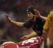 2006, Powergen Cup, Twickenham, Richard Birkett, London Wasps vs Llanelli Scarlets, ENGLAND, 09.04.2006, 2006, , © Peter Spurrier/Intersport-images.com.   [Mandatory Credit, Peter Spurier/ Intersport Images].