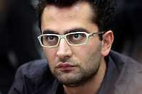 28 February 2009: Pro player Antonio Esfandiari in action during the  7th Annual WPT World Poker Tour Invitational at the Commerce Casino in Los Angeles, CA. Players compete for poker glory and a  piece of the $200,000 prize pool. Celebrity and Pro card players in action.
