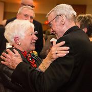 The annual Ignatian Gala in the Hemmingson Ballroom on April 14 honored Bob and Gerri Craves. (Photo by Ryan Sullivan)