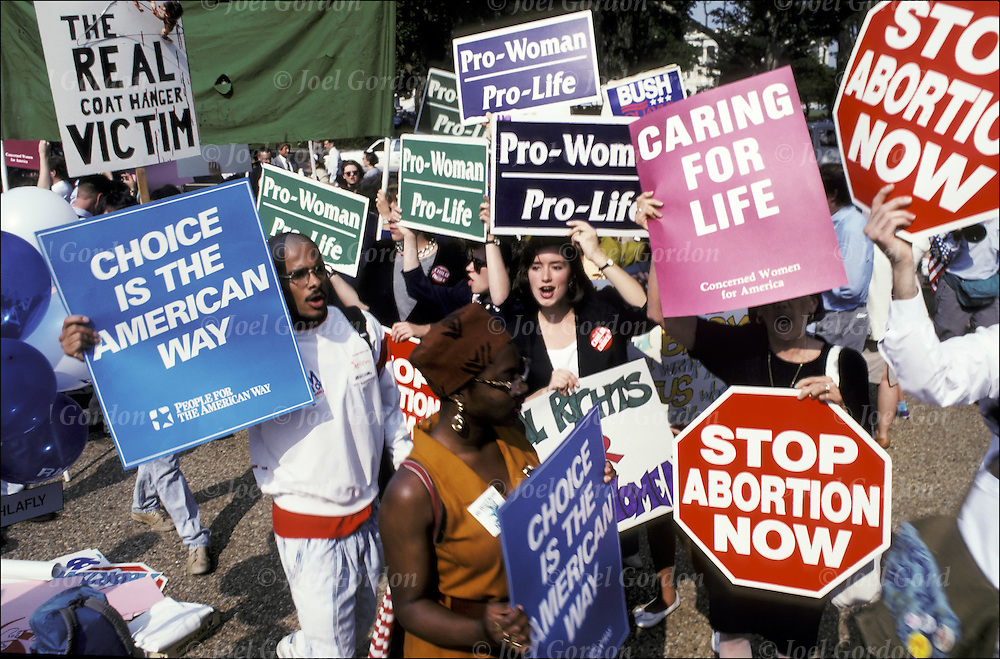 an evaluation of both sides of the abortion debate