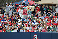 Ole Miss student section vs. Wright State at Oxford University Stadium in Oxford, Miss. on Friday, February 18, 2011.